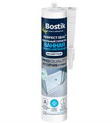 Герметик Bostik Perfect Seal силиконовый для ванной, белый 280 мл (12шт)