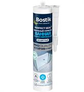 Герметик Bostik Perfect Seal нейтральный силиконовый для ванной белый 280 мл (12шт)