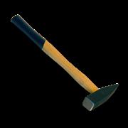 Молоток  400гр SANTOOL немецкого типа с деревянной ручкой (квад. боек)