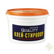 Клей Стиропор QUALITY ведро 1,5кг (9шт)
