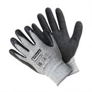 Перчатки со стекловолокном с текструрированным латексным покрытием, Fiberon, 9(L) (арт. PSV039P)