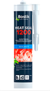 Герметик Bostik печной 1200С черный картридж 300мл (12шт)