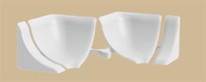 Набор комплектующих для галтели ( 1 набор во флоупак) 001 Белый