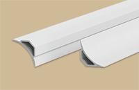 Галтель с мягким краем белый  25х25мм 2,5м (25шт/уп)