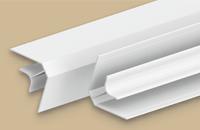 Угол внутренний для панелей 8мм 3,0м  Идеал Санни  001-G белый глянец (25шт/уп)