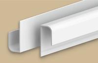 Профиль  L  для панелей 8мм 3,0м  Идеал Санни  001-G белый глянец (25шт/уп)