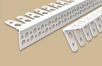 Угол штукатурный арочный белый 25х25мм 3.0м (50шт/уп)