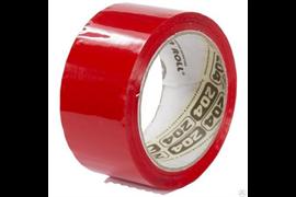Скотч упаковочный красный 48х66м Нова Ролл