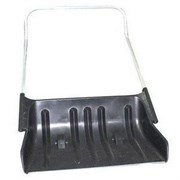 Лопата  движок  на колёсиках №33 726х320х884мм,в сборе с мет.ручкой
