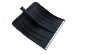 Снеговая лопата ФИНСКАЯ пластмассовая с оц.планкой 410х400мм,ф32