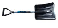Снеговая лопата автомоб.АКТИВ-АВТО,ф32мм с планкой, черенок с фиксатором и V-ручкой