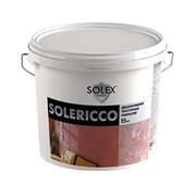 Штукатурка декоративная SOLEX Solericco (для создания эксклюзивных интерьеров) 15кг ведро