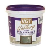 Состав лессирующий ВГТ  Gallery  полупрозрачный серебристо-белый 0,9кг(6шт)
