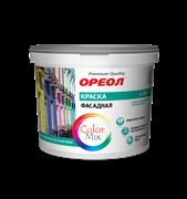 Краска ВД  ОРЕОЛ  фасадная атмосферостойкая полиакриловая (база А) 9л 12,96кг