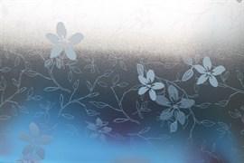 Е0035 D&B 91 см/8 м белые цветы на сером