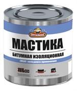 Мастика Битумно-изоляционная ОПТИЛЮКС 1,8кг банка (уп 6)