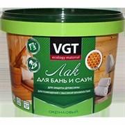 Лак ВГТ акрил.для бань и саун 2,2кг полуматовый (4шт)
