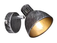 7031-701 Rivoli Спот Eho W1 Черный/серебро 1хE14 40W (12/432)