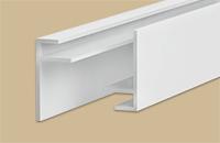 Профиль  F  10мм 3,0м  Идеал  белый (25шт/уп)