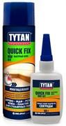 Клей двухкомпонентный Tytan цианакрилатный для МДФ 200мл/50 гр.