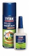 Клей двухкомпонентный Tytan цианакрилатный для МДФ 400мл/100 гр.
