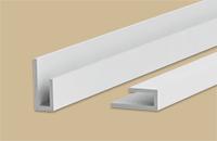 Профиль  L  10мм 3,0м  Идеал  001 белый (25шт/уп)