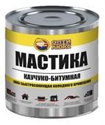 Мастика Каучуко-Битумная ОПТИЛЮКС 1,8кг банка
