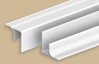 Угол внутренний универсальный для панелей 8мм 3,0м  Идеал Ламини  001-G белый глянцевый