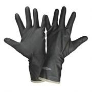 Перчатки КЩС тип 2 №9 р-р L (резиновые, черные)