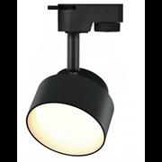 ЭРА TR16 GX53 BK Светильник ЭРА Трековый под лампу Gx53, алюминий, цвет черный