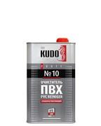 Очиститель пластика ПВХ слаборастворяющий KUDO №10 1000мл
