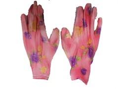 Перчатки садовые (цветные)