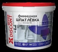 Шпатлевка для внутренних работ белая на основе ПВА ОРЕОЛ ДИСКОНТ 3кг