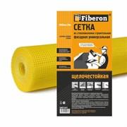 Сетка строительная универсальная 1.0м х 20м желтая ячейка 5х5 Fiberon 120 г/м³ (1/9)