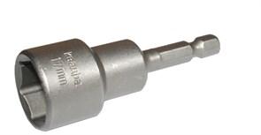Насадка магнитная для кровельных саморезов  17мм х 65мм  QUADRO TORSION  блистер