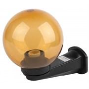 НБУ 01-60-203 ЭРА Светильник садово-парковый шар золотистый с настенным крепежом D200mm Е27
