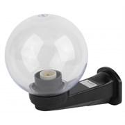 НБУ 01-60-252 ЭРА Светильник садово-парковый шар прозрачный призма с настенным крепежом D250mm Е27