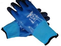 Перчатки двойной облив латексные (толстые) t-30
