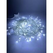 Гирлянда ENIN - WC ЭРА Гирлянда LED Мишура 3,9 м белый провод, холодный свет, 220V