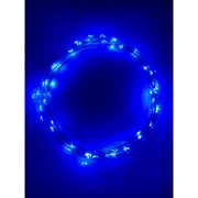Гирлянды ENIN -5NB ЭРА Гирлянда LED Нить 5 м синий свет, АА