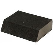 Губка угловая для шлифования сред. жесткость 100х70х25мм Р180(№6),  EUROTEX