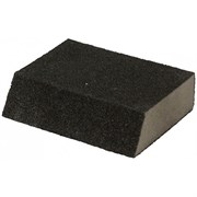 Губка угловая для шлифования сред. жесткость 100х70х25мм Р360(№4),  EUROTEX