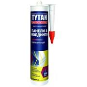 Клей монтажный  TYTAN  панели и молдинги бежевый картридж 310 мл(12шт)