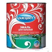 Эмаль для гаражей  РАСЦВЕТ универсальная алкидная для наружных и внутренних работ кр-кор. 2.7 кг 6шт