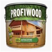 Антисептик PROFIWOOD 2 в 1 тонирующий атмосферостойкий алкидный бесцветный 8 кг