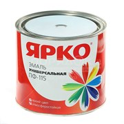 Эмаль ЯРКО ПФ-115 красная, банка 1,9кг (6шт)